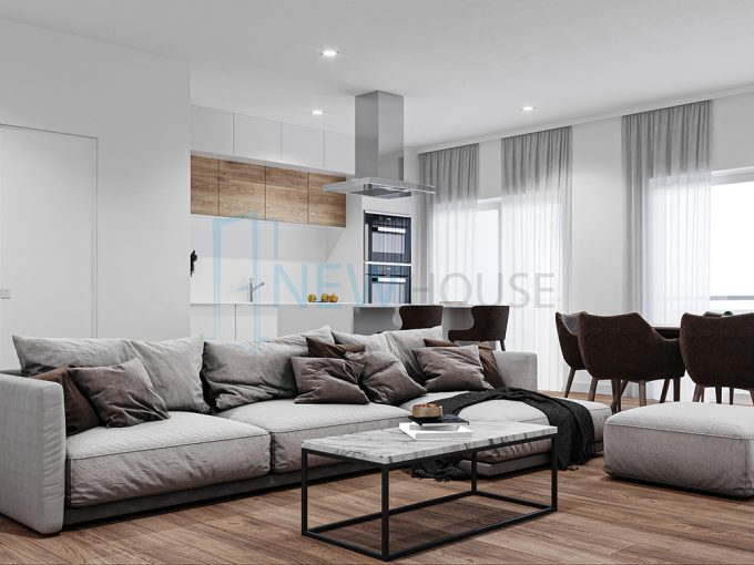 Apartamento T2 Novo a 6km do Porto